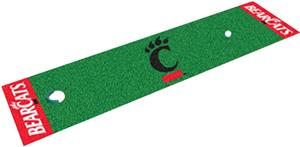 Fan Mats Univ. of Cincinnati Putting Green Mat