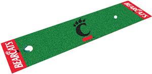 Fan Mats Univ. of Cincinnati Putting Green Mat