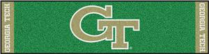 Fan Mats Georgia Tech Putting Green Mat