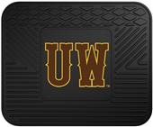 Fan Mats Univ. of Wyoming Vinyl Utility Mats