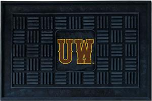 Fan Mats University of Wyoming Door Mat