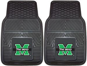 Fan Mats Marshall University 2-Piece Car Mats