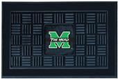 Fan Mats Marshall University Door Mat