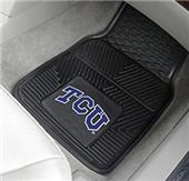 Fan Mats Texas Christian Univ. Car Mats (set)