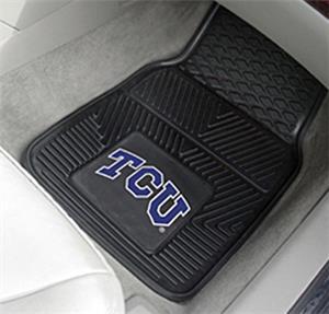 Fan Mats Texas Christian Univ. 2-Piece Car Mats