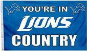 BSI NFL Detroit Lions 3' x 5' Flag w/Grommets