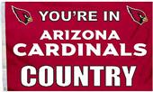 BSI NFL Arizona Cardinals 3'x5' Flag w/Grommets