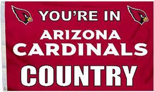 BSI NFL Arizona Cardinals 3'x5' Flag w/Grommets