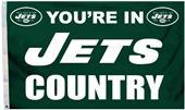 BSI NFL New York Jets 3' x 5' Flag w/Grommets