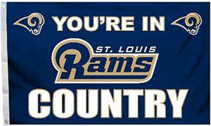 BSI NFL St. Louis Rams 3' x 5' Flag w/Grommets