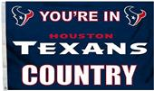 BSI NFL Houston Texans Country 3' x 5' Flag