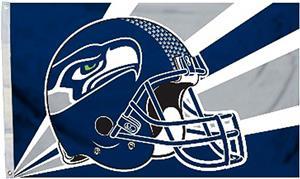 BSI NFL Seattle Seahawks 3' x 5' Flag w/Grommets