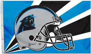 BSI NFL Carolina Panthers 3' x 5' Flag w/Grommets