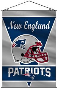 "BSI NFL New England Patriots 28"" x 40"" Wall Banner"