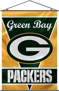 "BSI NFL Green Bay Packers 28"" x 40"" Wall Banner"