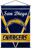 "BSI NFL San Diego Chargers 28"" x 40"" Wall Banner"