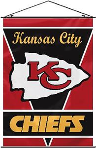 "BSI NFL Kansas City Chiefs 28"" x 40"" Wall Banner"