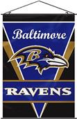 "BSI NFL Baltimore Ravens 28"" x 40"" Wall Banner"