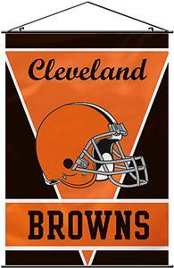 "BSI NFL Cleveland Browns 28"" x 40"" Wall Banner"