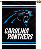 "BSI NFL Carolina Panthers 28"" x 40"" House Banner"