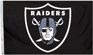 BSI NFL Oakland Raiders 3' x 5' Flag w/Grommets