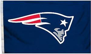 BSI NFL New England Patriots 3'x5' Flag w/Grommets