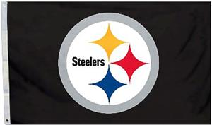 BSI NFL Pittsburgh Steelers 3'x5' Flag w/Grommets