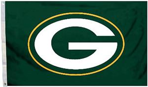 BSI NFL Green Bay Packers 3' x 5' Flag w/Grommets