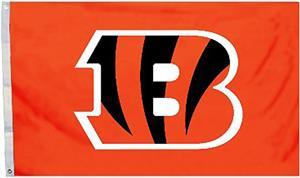 BSI NFL Cincinnati Bengals 3' x 5' Flag w/Grommets