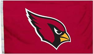 BSI NFL Arizona Cardinals 3' x 5' Flag w/Grommets