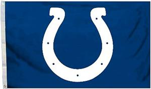 BSI NFL Indianapolis Colts 3' x 5' Flag w/Grommets
