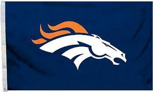 BSI NFL Denver Broncos 3' x 5' Flag w/Grommets