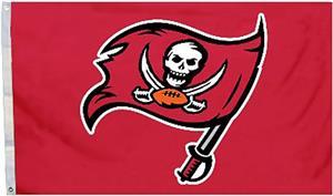 BSI NFL Tampa Bay Buccaneers 3'x5' Flag w/Grommets