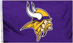 BSI NFL Minnesota Vikings 3' x 5' Flag w/Grommets