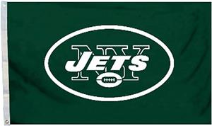 BSI NFL New York Jets 3' x 5' Flag w/Grommets