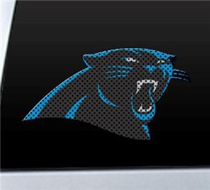 BSI NFL Carolina Panthers Auto Diecut Window Film