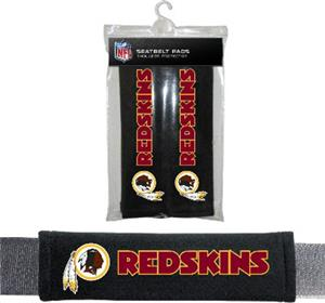 BSI NFL Washington Redskins Seat Belt Pads (2Pk)
