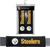 BSI NFL Pittsburgh Steelers Seat Belt Pads (2Pk)