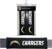 BSI NFL San Diego Chargers Seat Belt Pads (2Pk)
