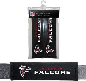 BSI NFL Atlanta Falcons Seat Belt Pads (2Pk)