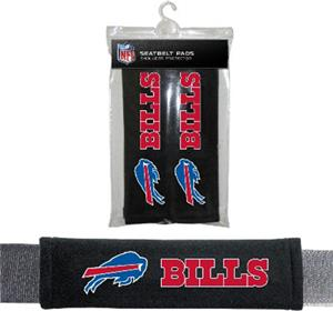BSI NFL Buffalo Bills Seat Belt Pads (2Pk)