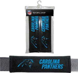 BSI NFL Carolina Panthers Seat Belt Pads (2Pk)