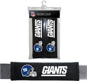 BSI NFL New York Giants Seat Belt Pads (2Pk)