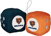 BSI NFL Chicago Bears Fuzzy Dice