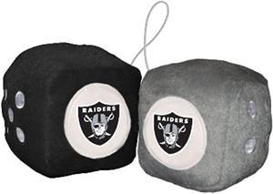 BSI NFL Oakland Raiders Fuzzy Dice