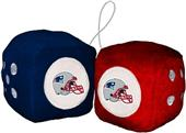 BSI NFL New England Patriots Fuzzy Dice