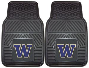 Fan Mats University of Washington 2-Piece Car Mats