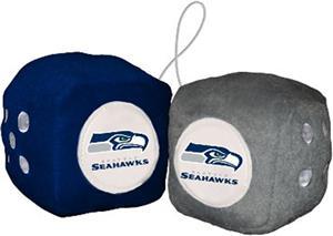 BSI NFL Seattle Seahawks Fuzzy Dice