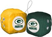 BSI NFL Green Bay Packers Fuzzy Dice