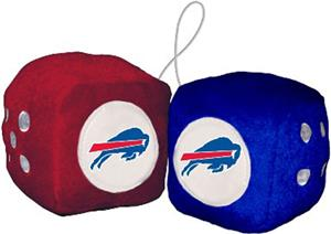 BSI NFL Buffalo Bills Fuzzy Dice
